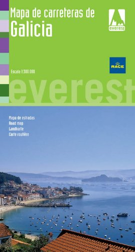 9788444130002: Mapa de carreteras de Galicia (Mapas provinciales / serie verde)