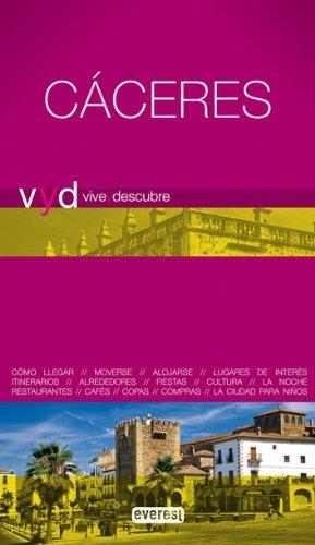 9788444130552: Vive y Descubre Cáceres