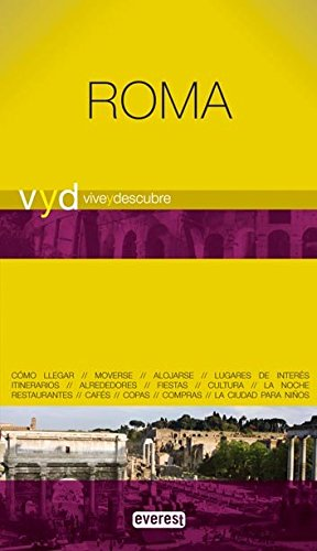 ROMA - VIVE Y DESCUBRE (Spanish Edition): EVEREST