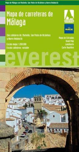 9788444130781: Mapa de carreteras de Málaga