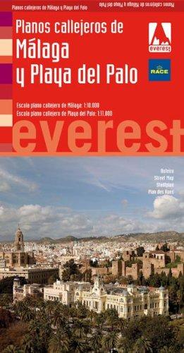 9788444130965: Planos callejeros de Málaga y Playa del Palo