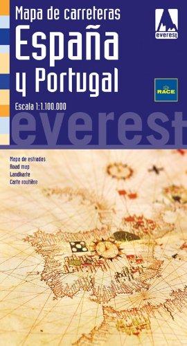 9788444132549: Mapa de carreteras de España y Portugal. 1:1.100.000: Cartografía digital georreferenciada. (Mapas de carreteras)