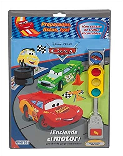 9788444134031: Cars. ¡Enciende El Motor! (+ Semáforo) (Libros singulares)