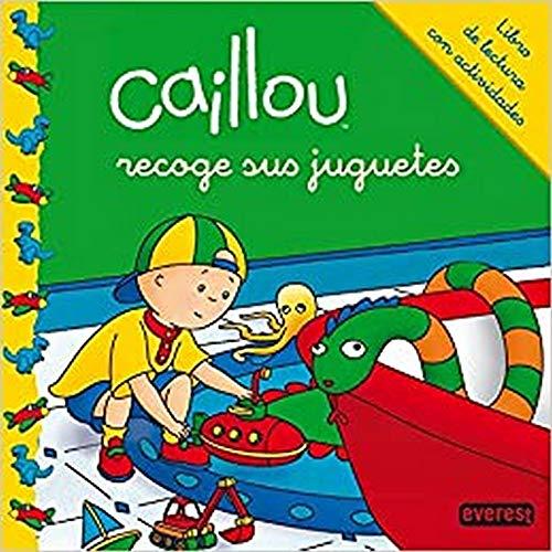 9788444134277: Caillou recoge sus juguetes