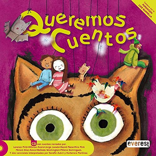 9788444140742: Queremos cuentos: Libro + CD (Colorin Colorado)