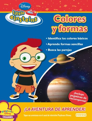 9788444141169: Little Einsteins. Colores y formas