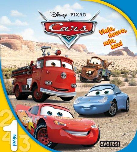 9788444141992: Cars. Viejo, nuevo, rojo, azul. Nivel 1 (Leo con Disney)