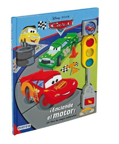 9788444142067: Cars. ¡Enciende el motor!: ¡Un libro de juegos acelerados! (Cars / Libros singulares)
