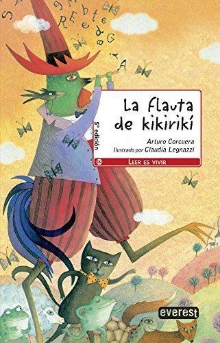 9788444143071: La flauta de Kikirikí (Leer es vivir / Poesía)