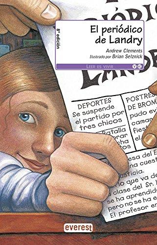9788444143750: El periódico de Landry (Leer es vivir)