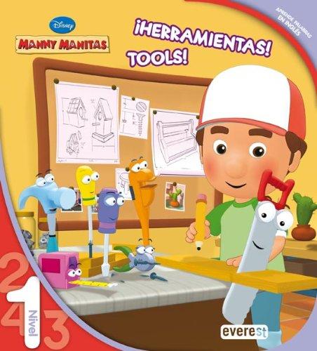 9788444144306: Manny Manitas. ¡Herramientas! Tools! Leo con Disney. Nivel 1