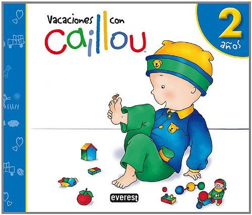 9788444145440: Vacaciones con Caillou (2 anos)