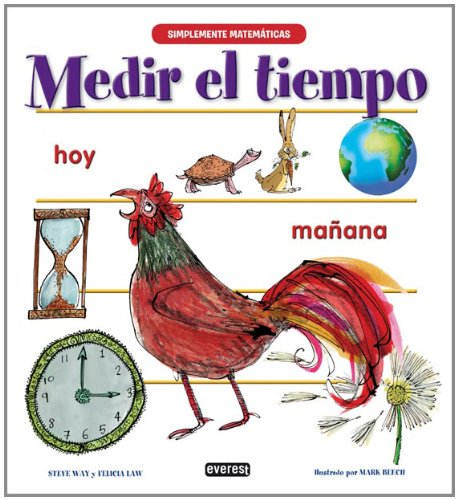 9788444145679: Medir el tiempo / Telling the Time (Simplemente Matematicas) (Spanish Edition)