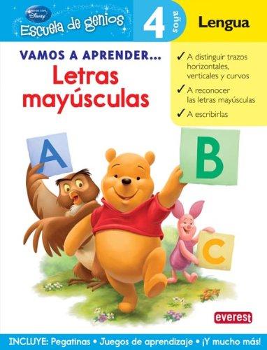 9788444146447: LETRAS MAYUSCULAS-4AÑ-ESCGEN(978)