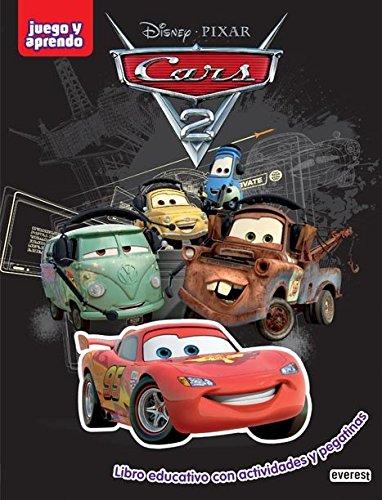 9788444146706: Cars 2: juego y aprendo: libro de actividades con pegatinas