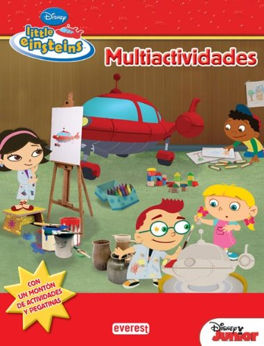 9788444146775: Little Einsteins. Multiactividades: Con un montón de actividades y pegatinas. (Little Einsteins / Libros de actividades con pegatinas)
