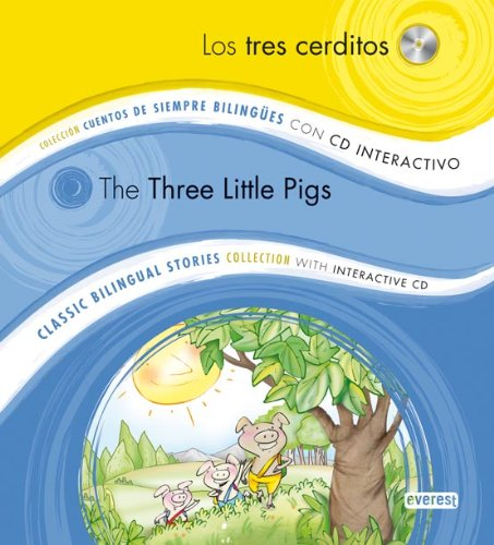9788444146881: Los Tres Cerditos/The Three Little Pigs [With CD (Audio)] (Coleccion Cuentos de Siempre Bilingues/Classic Bilingual Stories Collection) (Spanish Edition)