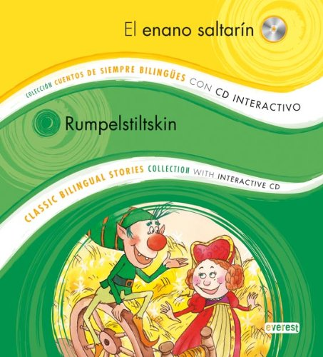 9788444146911: El enano saltarín / Rumpelstiltskin: Colección Cuentos de Siempre Bilingües con CD interactivo. Classic Bilingual Stories collection with interactive CD