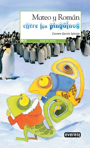 9788444148243: Mateo y Román entre los pingüinos
