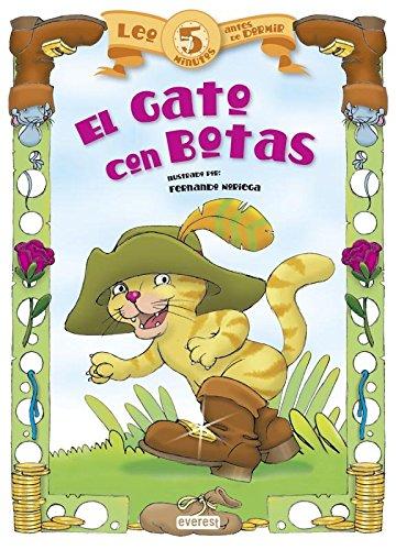 9788444148717: El Gato Con Botas (Leo 5 minutos antes de dormir)