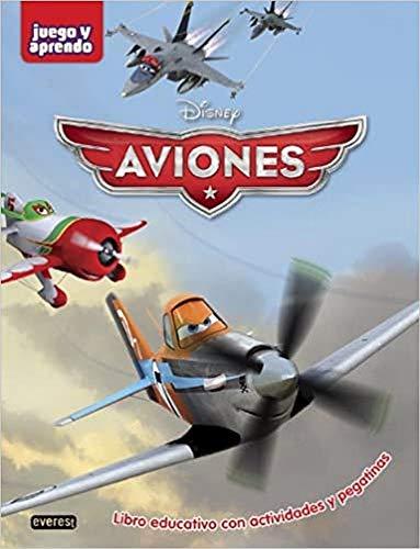 Aviones. Libro educativo con actividades y pegatinas: Walt Disney Company
