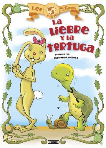 9788444149882: Leo 5 minutos antes de dormir:La liebre y la toruga (Spanish Edition)