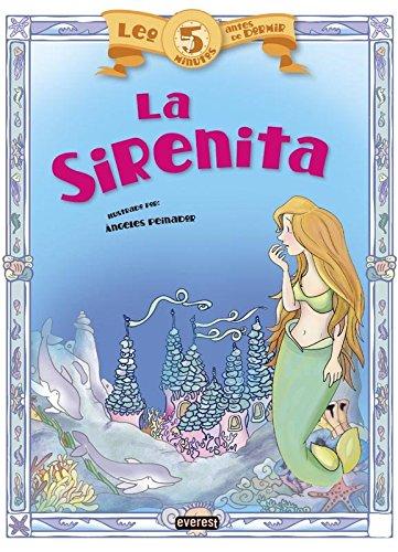 9788444149912: La Sirenita (Leo 5 minutos antes de dormir)