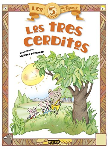 9788444149929: Leo 5 minutos antes de dormir: Los tres cerditos (Spanish Edition)