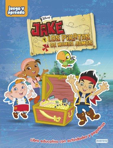 9788444149998: Jake y los piratas de Nunca Jamás