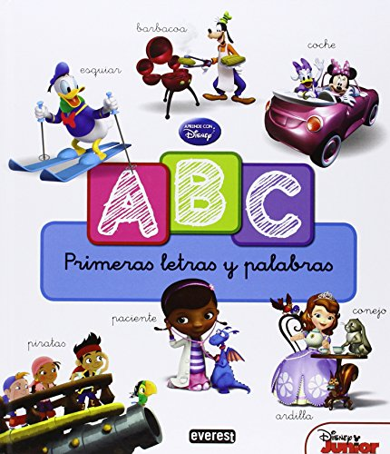 ABC Disney. Mis primeras letras y palabras: Sin_dato
