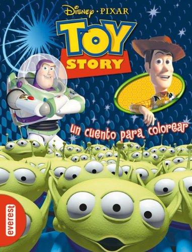 9788444160399: Toy Story. Un cuento para colorear.