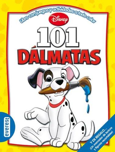 9788444161099: 101 Dálmatas: Libro con juegos y actividades a todo color (Multieducativos Disney)