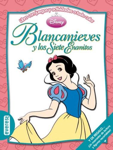 9788444161129: Blancanieves y los Siete Enanitos: Libro con juegos y actividades a todo color (Multieducativos Disney)
