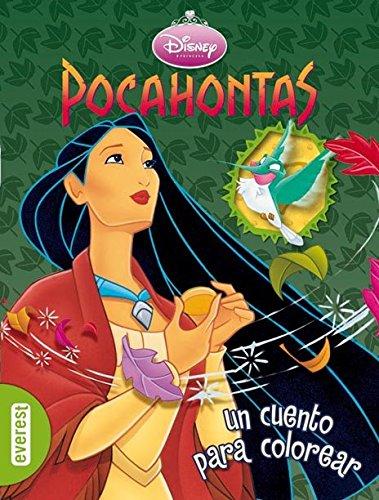 9788444161525: Pocahontas: un cuento para colorear