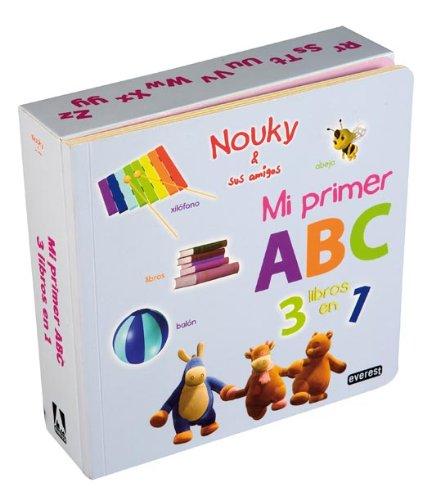 9788444163864: Nouky & sus amigos. Mi primer ABC. Tres libros en uno (Nouky / Libros singulares)