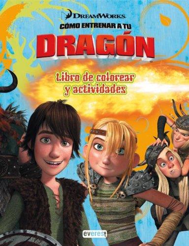 9788444164984: Cómo entrenar a tu dragón. Libro de colorear y actividades (Como entrenar a tu dragón)