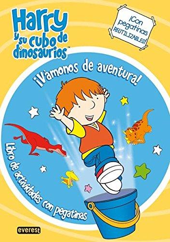 9788444165172: Harry y su cubo de dinosaurios. Vamonos de aventura. Colorear