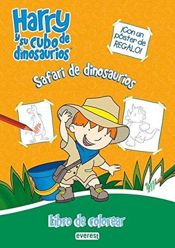 9788444165196: Harry y su cubo de dinosaurios. Safari de dinosaurios