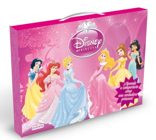 9788444166223: Princesas Disney. Maletín de buenos modales: ¡Aprende a comportarte como una verdadera princesa! (Princesas Disney / Libros singulares)