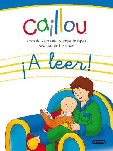 9788444166230: Caillou: ¡a leer! (Juego y repaso con Caillou)