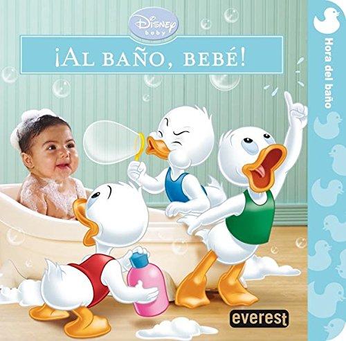 9788444166438: Disney Baby. ¡Al baño, bebé!: Hora del baño (Libros singulares)
