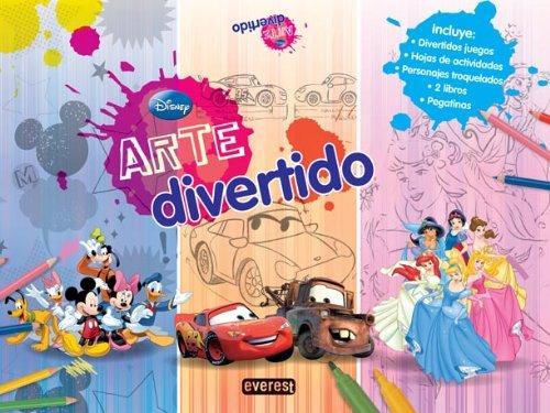 9788444166520: Disney. Arte divertido (Libros de colorear y actividades Disney)