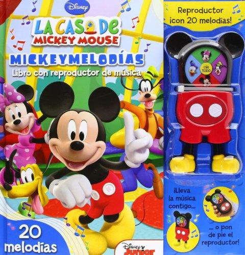 9788444166544: La casa de Mickey Mouse. Mickeymelodías. Libro con reproductor de música (Libros singulares)