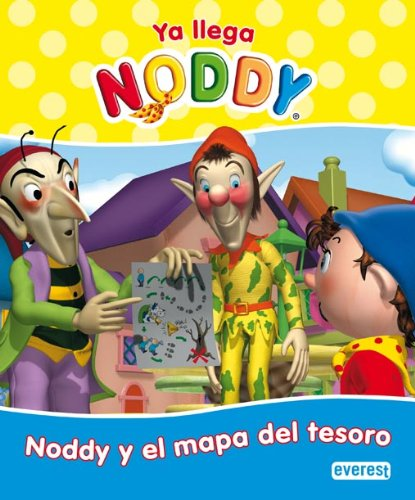 9788444166759: Noddy y el mapa del tesoro