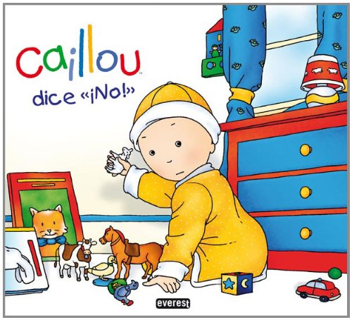 9788444167190: Caillou dice