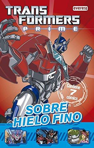 9788444167961: Transformers Prime. Sobre hielo fino: Contiene 7 cómics. (Cómics robóticos)
