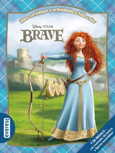 9788444168098: Brave: libro con juegos y actividades a todo color