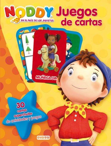 9788444168333: Noddy en el país de los juguetes. Juegos de cartas: 30 cartas superchulas de actividades y juegos