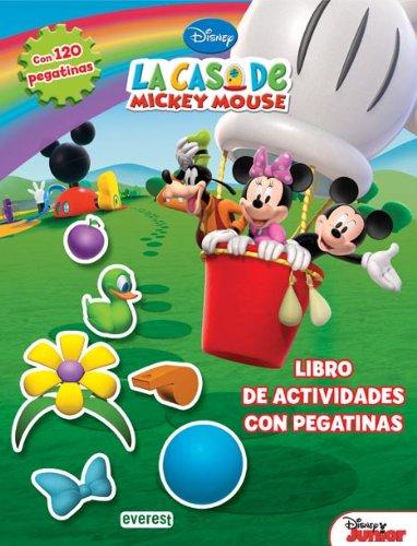 9788444168920: La Casa de Mickey Mouse. Libro de actividades con pegatinas