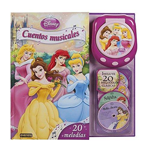 9788444168975: Princesas Disney. Cuentos musicales. Libro con reproductor musical: 20 melodías (Princesas Disney / Libros singulares)
